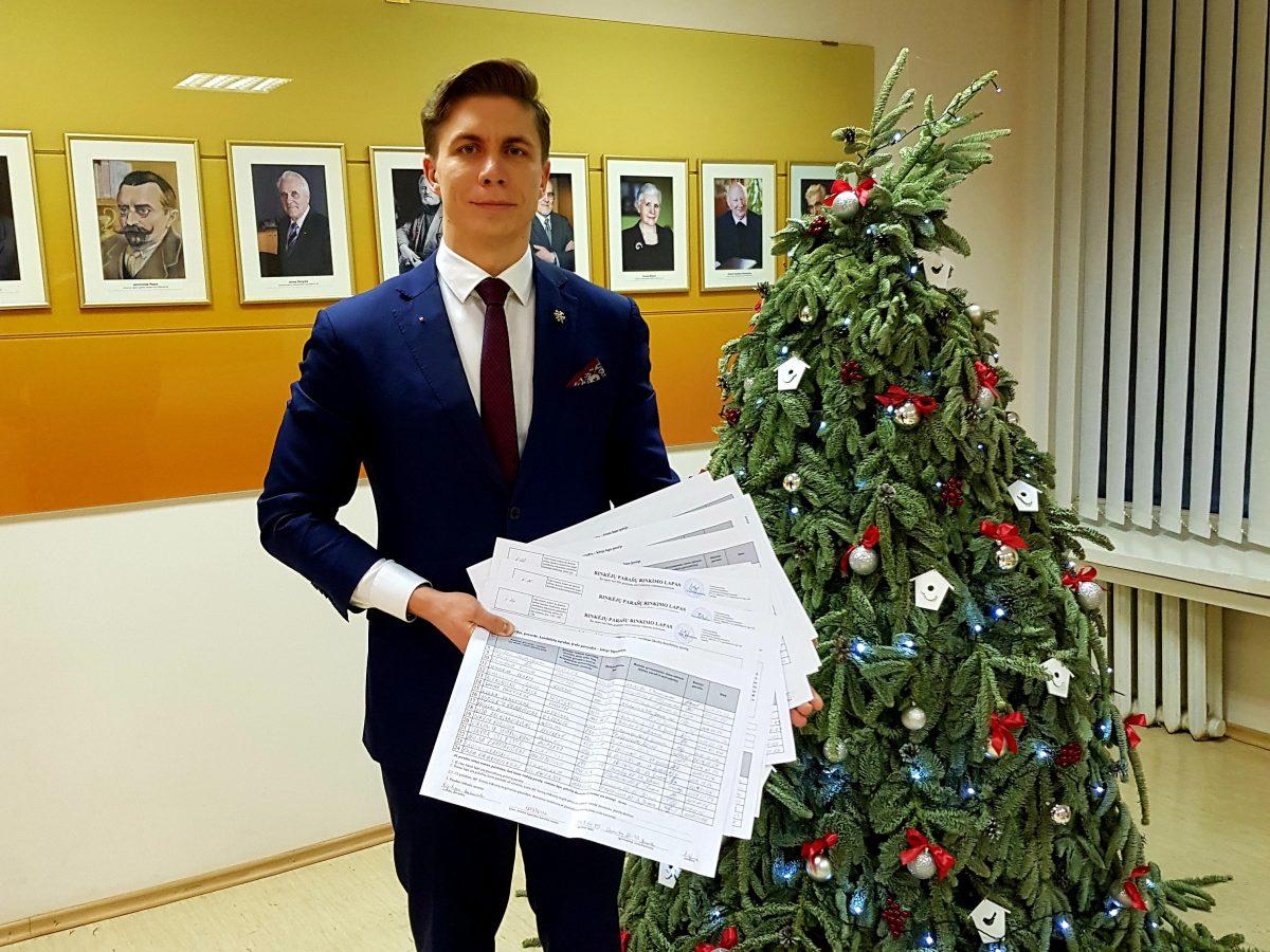 M. Sinkevičius ir Jonavos socialdemokratai surinko reikalingą skaičių gyventojų parašų